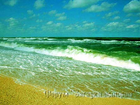 """«Любое море нужно звать на """"вы""""!». Азовское море."""