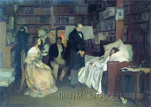 Но вот Пушкин на смертном одре... Кто он: атеист или нет?